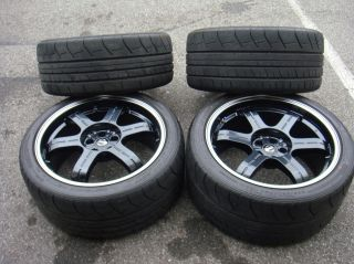2013 Nissan Black Edition GTR Wheels Tires w TPS
