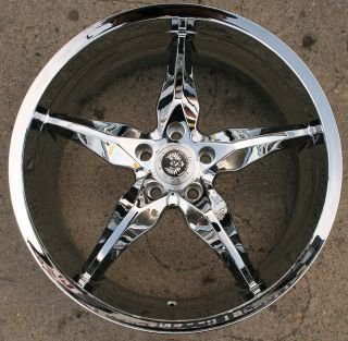 ST6 20 Chrome Rims Wheels Lincoln LS V6 V8 rwd 20 x 8 5 5H 38