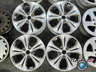 Four 2013 Hyundai Elantra GT Factory 17 Wheels Rims 52910 A5550