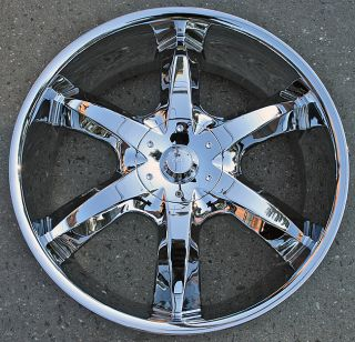 RVM 760 22 Chrome Rims Wheels Jeep Commander Pacifica