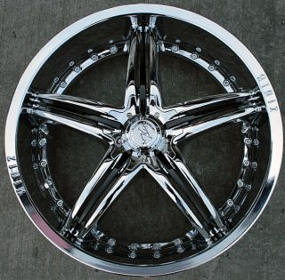 Zinik Z27 20 Chrome Rims Wheels Lincoln LS