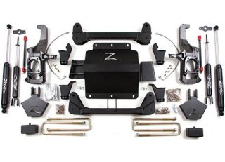 Zone Offroad Lift Kit 2011 12 Chevy Silverado GMC Sierra 2500 3500