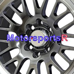 15 15x8 XXR 531 Chromium Black Wheels Rims Deep Dish 4x100 84 91 BMW