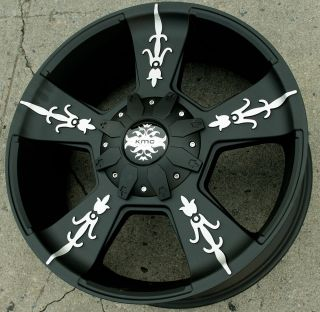 22 Black Rims Wheels GMC Yukon Denali XL 07 Up 22 x 9 0 6H 30