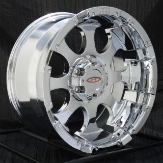 17 inch Chrome Wheels Rims Chevy Truck GMC 1500 6 Lug