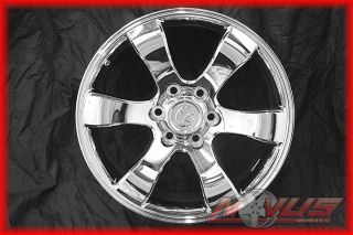 Tundra Sequoia Tacoma FJ Cruiser 4 Runner Chrome Wheels Rims 22