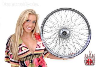 21 Chrome 80 Twisted Spoke Wheel Rim Wheels 4 Harley