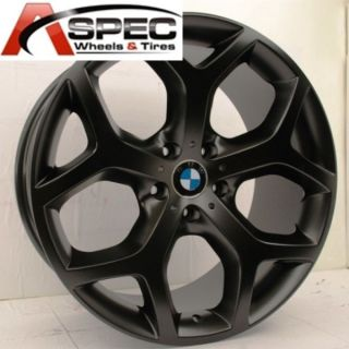 20 Matt Black BMW Style Wheels Fit BMW x5 x6 Xdrive 3 0 3 5 4 8 E70