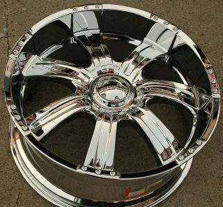 501 22 Chrome Rims Wheels Chrysler 300 300C V6 V8 22 x 9 5