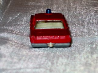 Vintage 1960s Matchbox series #59 Ford Galaxie A Red Diecast Matchbox