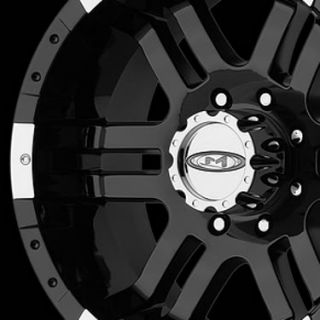 MOTO METAL MO951 5X4.5 EXPLORER WRANGLER CHALLENGER BLACK WHEELS RIMS