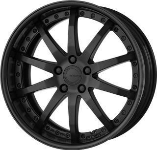 19 Work Gnosis GS 1 Black Rims Wheels x3 E36 E46 Z4 M3