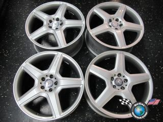 Mercedes CL63 S550 Factory AMG 20 Wheels W216 W220 CL65 S450 Rims OEM