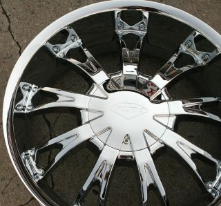 320 20 Chrome Rims Wheels Cadillac SRX Uplander 20 x 8 5 6H 30