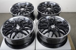 17 Effect Wheels Rims 4x100 Honda Accord Civic Prelude Miata Cooper