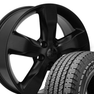 Black Jeep Grand Cherokee Wheels Set of 4 OEM Rims 9107 Goodyear Tires