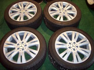 18 Mercedes Wheels Tires s CL Class S500 S550 CL500 S430 S400 S320