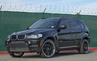 22 BMW x5 x6 Wheels Rims Vertini Hennessey Chrome Lip