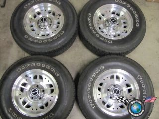 four 93 95 Ford Ranger Factory 14 Wheels Tires OEM Rims 3074 F37A