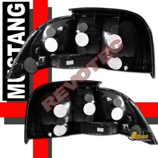 96 97 98 FORD MUSTANG HALO LED PROJECTOR HEADLIGHTS G2 & TAIL LIGHTS