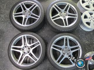 S63 CL65 Factory Forged AMG 20 Wheels Tires W220 W216 Rims