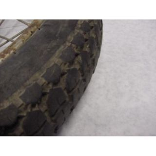 1968 68 Yamaha YA6 125cc Y21 210820 Rear Wheel Tire Rim