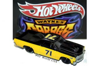 Hot Wheels Waynes Garage 71 Chevy El Camino 30 Car SE