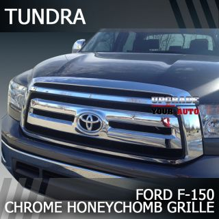 10 13 Toyota Tundra chrome grille for your 2010 2011 Toyota Tundra