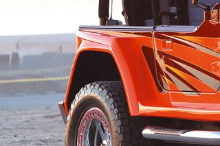 97 06 Jeep Wrangler Passenger Side Fender Extension Wrangler Style