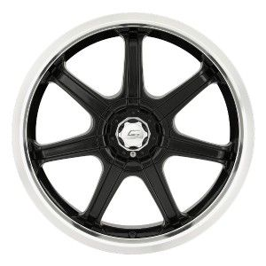 17 inch Sacchi S35 Black Wheels Rims 5x115 Silhouette Bonneville Grand