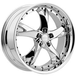 20 inch Menzari Z11 Chrome Wheels Rims 5x112 35 Mercedes CLK430 S500