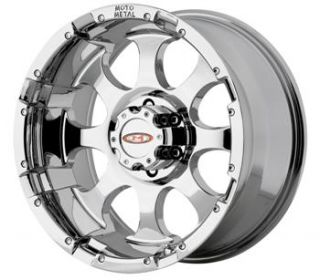17x9 Chrome Wheels Rims Moto Metal MO955 8x6 5