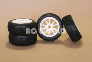 RC 1 8 Car Buggy Truck Tires Wheels Rims Package Nipple