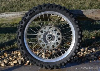 YZ450F YZ125 YZ250F YZ250 Rear Back Wheel Tire Rim Hub Spokes