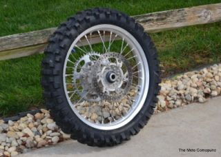YZ250 YZ 250 Back Rear Wheel Rims Hub Axle Spaces Spokes Stock