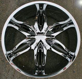 RVM 778 24 Chrome Rims Wheels Yukon Tahoe Sierra 5x127