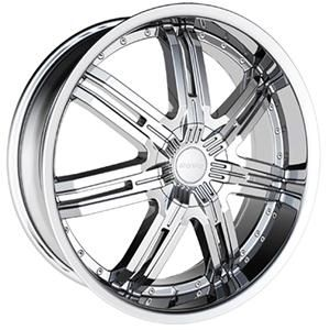 20 Wheels Rims Package Free Tires Bentchi B14 Triple Chrome 5x127