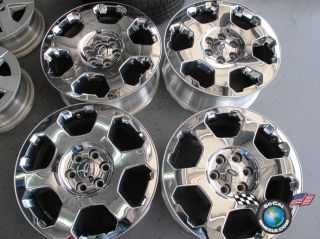 11 Ford F150 Factory 20 Chrome Clad Wheels Expedition 3786 Rims