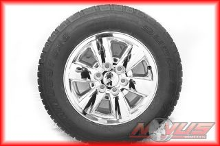 Chevy Tahoe Silverado Z71 Chrome Wheels Bridgestone Tires 20