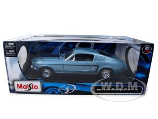 Brand new 118 scale diecast car model of 1968 Ford Mustang CJ Cobra