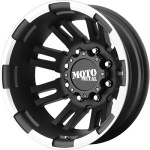 inch moto metal black dually wheels rims 8x170 ford f 250 350 dually
