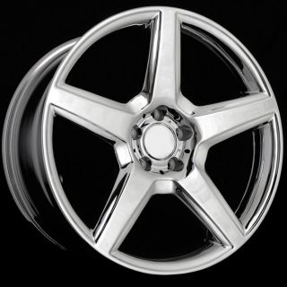19 Chrome Wheels Rims Fit Mercedes W203 W208 W209 C219 C218 W210 W211