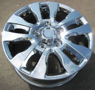 NEW 20 FACTORY TOYOTA TUNDRA SEQUOIA PLATINUM CHROME OEM WHEELS RIMS