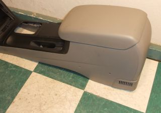 02 06 Camry Gray Center Console w Lid Cupholder Shifter Trim Factory