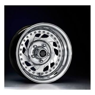 Center Line Wheels Modular Series Warrior Polished Wheel 15x4 5x4 75