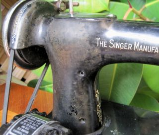Ready to Work 1937 Singer Featherweight 221 Sewing Machine