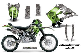 Rim Trims, Lower Fork Guards, and Swingarms. Shapesof graphics are