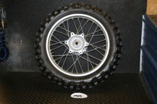 Honda XR650 XR650L Rear Wheel Rim Hub Spokes Tire