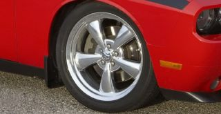 Factory Dodge Challenger Heritage Nostalgia Polished 20 inch Wheels