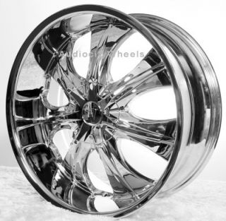 22Rims Tires VC725 Wheels 300C Magnum Charger